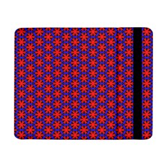 Blue Pattern Texture Samsung Galaxy Tab Pro 8 4  Flip Case by HermanTelo