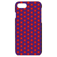 Blue Pattern Texture Iphone 7/8 Black Uv Print Case