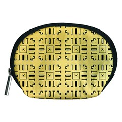 Background Yellow Accessory Pouch (medium)