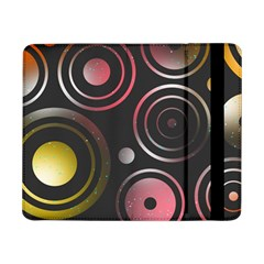 Circles Yellow Space Samsung Galaxy Tab Pro 8 4  Flip Case by HermanTelo