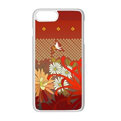Abstract Flower Iphone 8 Plus Seamless Case (white)