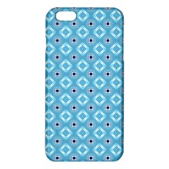 Blue Pattern Iphone 6 Plus/6s Plus Tpu Case by HermanTelo