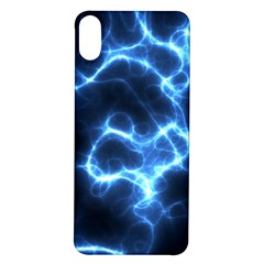 Electricity Blue Brightness Iphone X/xs Soft Bumper Uv Case