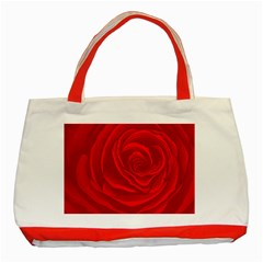 Roses Red Love Classic Tote Bag (red) by HermanTelo