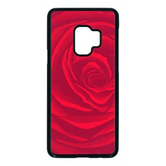 Roses Red Love Samsung Galaxy S9 Seamless Case(black) by HermanTelo