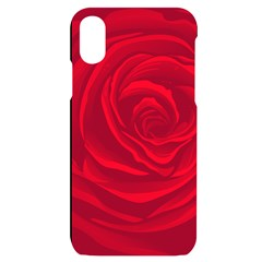 Roses Red Love Iphone X/xs Black Uv Print Case
