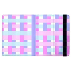 Gingham Nurserybaby Apple Ipad Pro 9 7   Flip Case