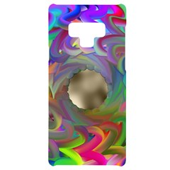 Rainbow Plasma Neon Samsung Note 9 Black Uv Print Case
