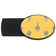 Key Usb Flash Drive Oval (2 Gb)