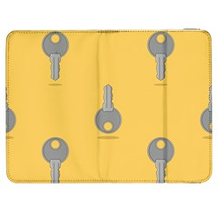 Key Samsung Galaxy Tab 7  P1000 Flip Case by HermanTelo
