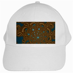 Fractal Abstract White Cap by Bajindul