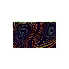 Fractal Mathematics Generated Cosmetic Bag (xs)