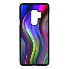 Lines Swinging Plasma Cross Samsung Galaxy S9 Plus Seamless Case(black) by Bajindul