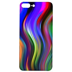 Lines Swinging Plasma Cross Iphone 7/8 Plus Soft Bumper Uv Case by Bajindul