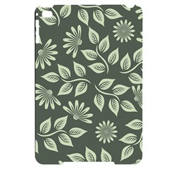 Flowers Pattern Spring Green Apple Ipad Mini 4 Black Uv Print Case by Bajindul