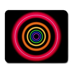 Neon Light Abstract Large Mousepads