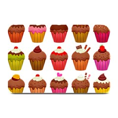 Chocolate Cake Muffin Plate Mats by Bajindul