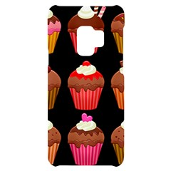 Chocolate Cake Muffin Samsung S9 Black Uv Print Case by Bajindul