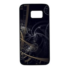 Fractal Abstract Rendering Samsung Galaxy S7 Black Seamless Case by Bajindul