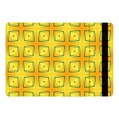 Green Plaid Gold Background Apple Ipad 9 7