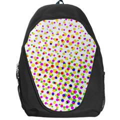 Illustration Abstract Pattern Polka Dot Backpack Bag