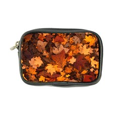 Fall Foliage Autumn Leaves October Coin Purse by Pakrebo