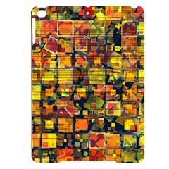 Color Abstract Artifact Pixel Apple Ipad Pro 9 7   Black Uv Print Case
