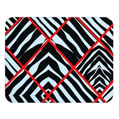 Model Abstract Texture Geometric Double Sided Flano Blanket (large)