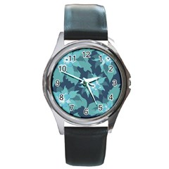 Graphic Design Wallpaper Abstract Round Metal Watch