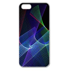 Abstract Desktop Background Apple Seamless Iphone 5 Case (clear)