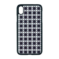 Purple Pattern Texture Iphone Xr Seamless Case (black)