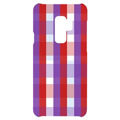 Gingham Pattern Line Samsung S9 Plus Black Uv Print Case