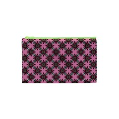 Purple Pattern Texture Cosmetic Bag (xs) by HermanTelo