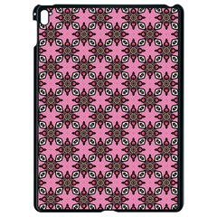 Purple Pattern Texture Apple Ipad Pro 9 7   Black Seamless Case