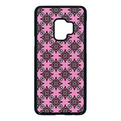 Purple Pattern Texture Samsung Galaxy S9 Seamless Case(black) by HermanTelo