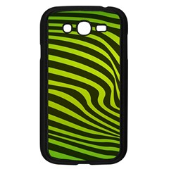 Wave Green Samsung Galaxy Grand Duos I9082 Case (black) by HermanTelo