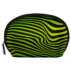 Wave Green Accessory Pouch (large) by HermanTelo