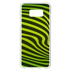 Wave Green Samsung Galaxy S8 Plus White Seamless Case