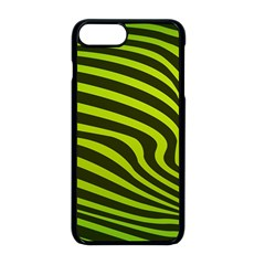 Wave Green Iphone 8 Plus Seamless Case (black)
