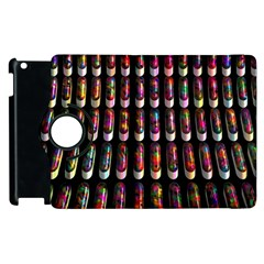 Texture Abstract Apple Ipad 2 Flip 360 Case by HermanTelo