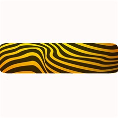 Wave Line Curve Abstract Large Bar Mats