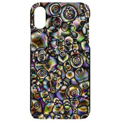 Circle Plasma Artistically Abstract Iphone Xr Black Uv Print Case