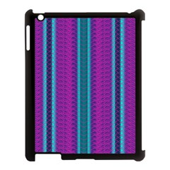 Fabric Pattern Color Structure Apple Ipad 3/4 Case (black) by Bajindul
