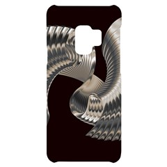 Ornament Spiral Rotated Samsung S9 Black Uv Print Case by Bajindul
