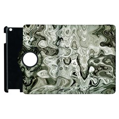 Abstract Stone Texture Apple Ipad 2 Flip 360 Case by Bajindul