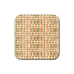 Flowers Rubber Coaster (square)  by Bajindul
