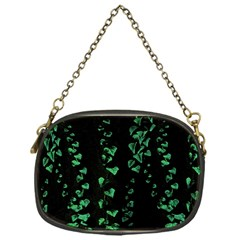 Botanical Dark Print Chain Purse (one Side) by dflcprintsclothing