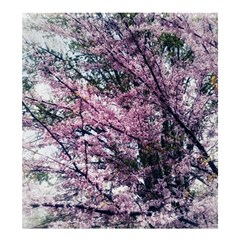 Ohio Redbud Shower Curtain 66  X 72  (large)  by Riverwoman
