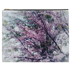 Ohio Redbud Cosmetic Bag (xxxl) by Riverwoman