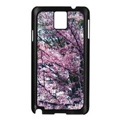 Ohio Redbud Samsung Galaxy Note 3 N9005 Case (black) by Riverwoman